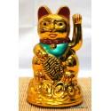 """4.5"""" Golden Money Cat - battery powered"""